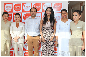 South Indian Actress Parvathi Nair inaugurates Kaya Skin Clinic in Hosur Sarjapur Road Layout (HSR Layout)