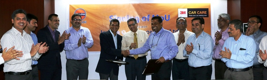 Indian oil inks agreement with 3m india - 3m india corporate office ...