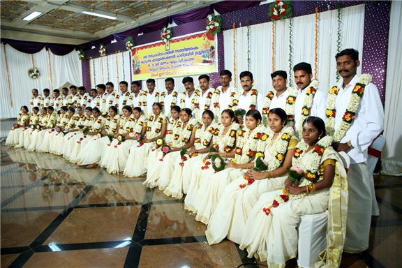 Sobha conducts dowry-less social weddings in Palakkad, Kerala