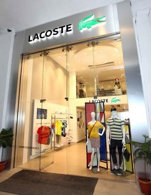 6d03332c0011 Lacoste launches online shopping site exclusively for India