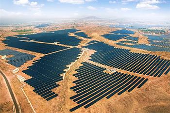 Azure Power Solar Power Plant