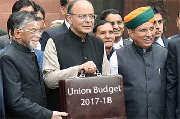 Arun Jaitley, Budget 2017