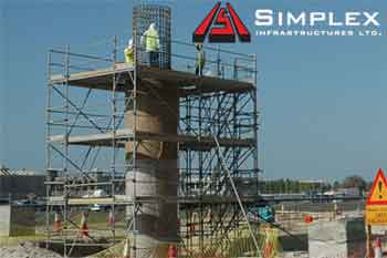 Simplex Infra gaps up 10% on order win