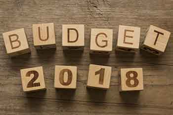 Budget for 2018