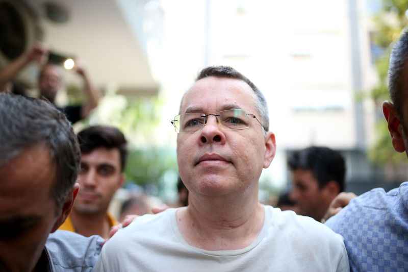 Pastor Andrew Brunson in custody in Turkey
