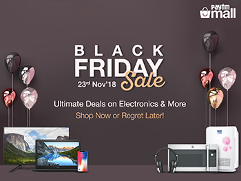 937a21058 Black Friday sale  Paytm Mall offers incredible opportunity to shop their  favorite gadgets