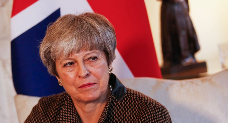 British Prime Minister Theresa May. IndiaInfoline Pic: Luke MacGregor/Bloomberg