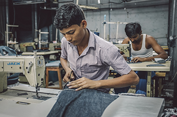 Indian-workers-sewing