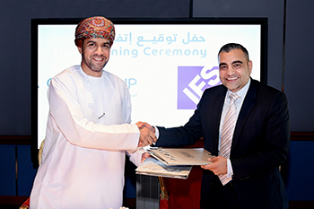 Oman ICT Group and IFS partnership signing..