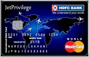 Jet Hdfc Launch Jetprivilege Hdfc Bank World Debit Card