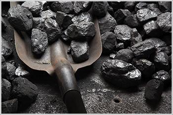 Coal-and-shovel
