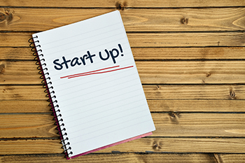 Start up word on notebook