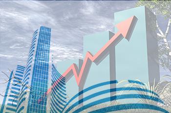 Bombay Stock Exchange Up