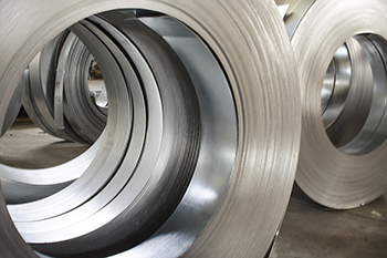 Sheet tin metal rolls, Steel