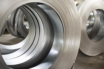 Sheet tin metal rolls, Steel