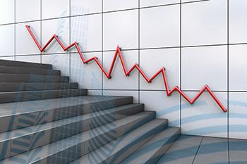 Sensex Down Graph