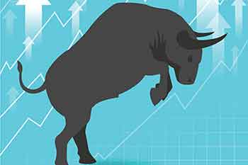Bull market presents uptrend stock market