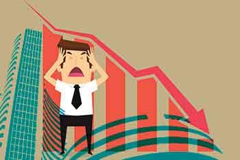 Stock Market Down, Sensex Down
