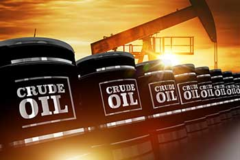 Oil up on firming global prices