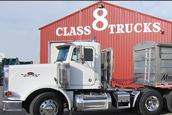 North American Class 8 trucks