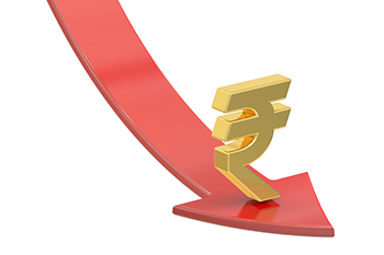 Rupee declines 17 paise on higher crude oil prices