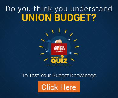 IIFL Union Budget 2017 Quiz