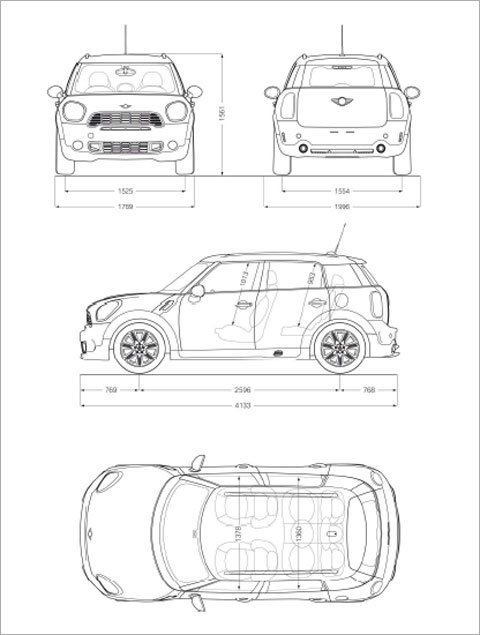 mini cooper interior dimensions inches. Black Bedroom Furniture Sets. Home Design Ideas