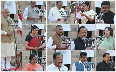 Important ministers of india 2014 book