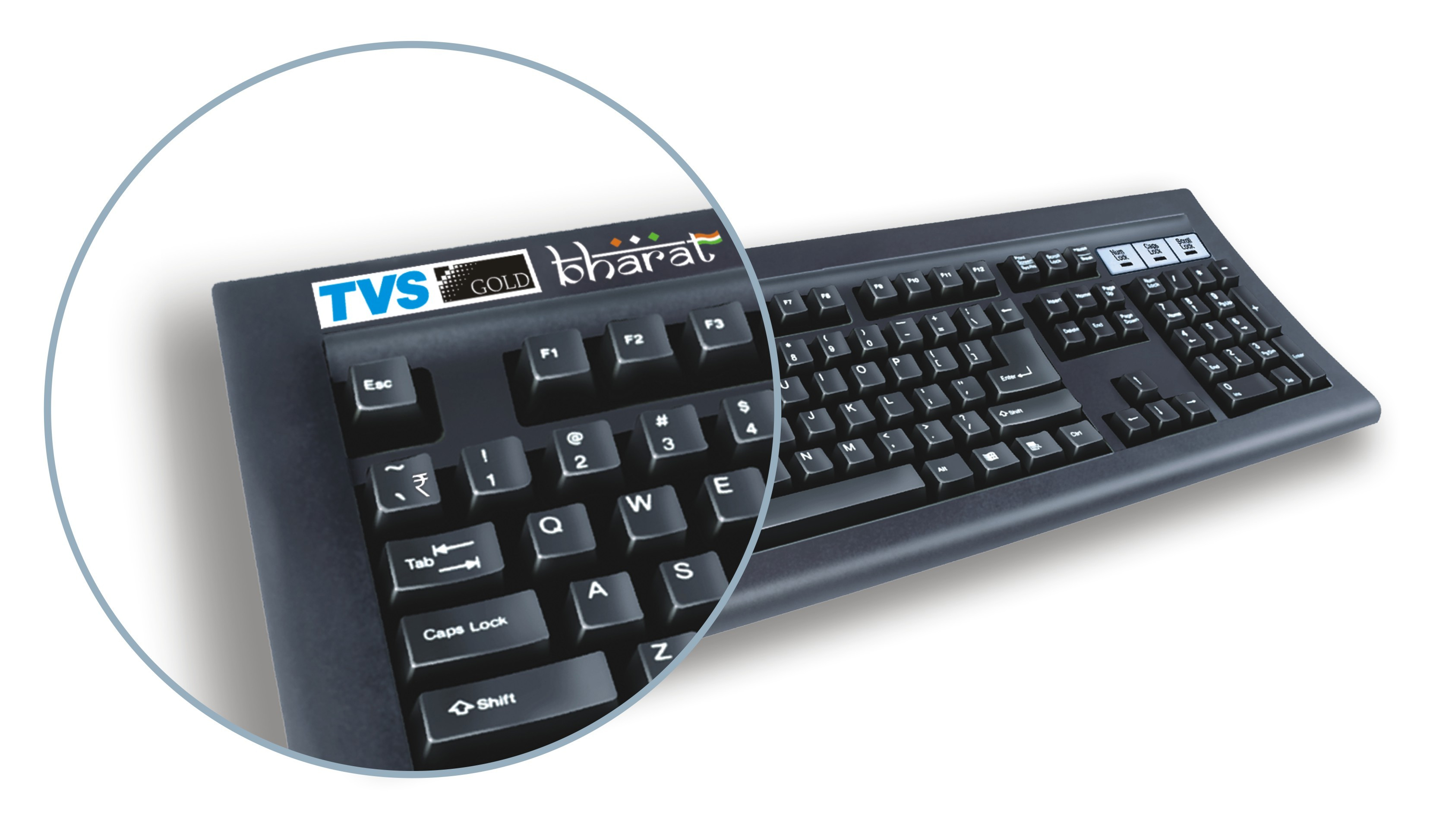 Tvs electronics unveils keyboard with the new indian rupee symbol with the announcement of tvs gold bharat a new keyboard with a dedicated indian rupee symbol key tvs e becomes the first and only indian it company to biocorpaavc Images